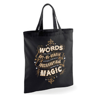 Words of Magic Canvas Tote Bag