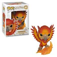 Fawkes The Phoenix Flocked Funko POP! SDCC Exclusive