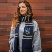 Ravenclaw Deluxe Knitted Scarf