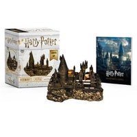 Replica Hogwarts Castle & Sticker Book Miniature