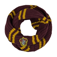 Knitted Infinity Scarf Gryffindor
