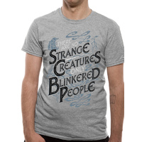 T-Shirt Crimes of Grindelwald Strange Creatures Unisex