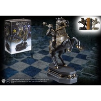 Wizard's Chess Black Knight Bookend