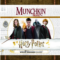 Munchkin Deluxe Harry Potter Board Game