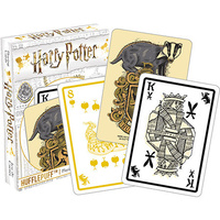 Playing Cards Hufflepuff