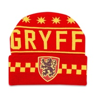 Knitted Beanie Gryffindor Crest Lootcrate Exclusive