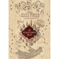 Poster The Marauders Map Mighty Print