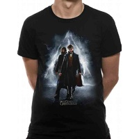 T-Shirt Crimes of Grindelwald Movie Poster Unisex