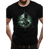 T-Shirt Crimes of Grindelwald Deathly Hallows Split Unisex