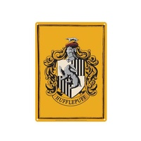 Tin Sign Hufflepuff Crest
