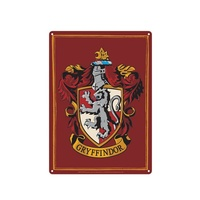Tin Sign Gryffindor Crest