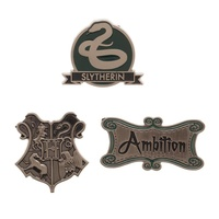 Slytherin Lapel Pin Set 3 Pack