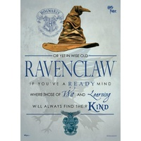 Poster Ravenclaw Sorting Hat Mighty Print