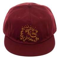 Gryffindor Proud Lion Snap Back Cap