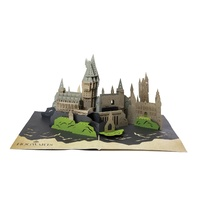 Hogwarts Castle 3D Pop Up Greeting Card