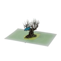 Whomping Willow 3D Pop Up Greeting Card