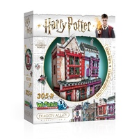 3D Puzzle 305 pieces Diagon Alley Quality Quidditch Supplies & Slug Jiggers