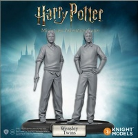 Harry Potter Miniatures 35mm 2 pack Fred & George Weasley