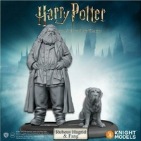 Harry Potter Miniatures 35mm 2 Pack Rubeus Hagrid & Fang
