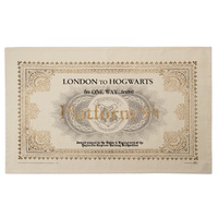 Hogwarts Express Ticket Tea Towel