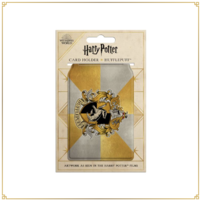 Hufflepuff House Crest Travel Card Wallet
