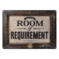 Metal Wall Sign Room of Requirement small