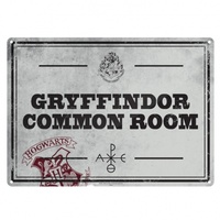 Tin Sign Gryffindor Common Room