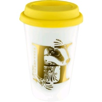 Hufflepuff Porcelain Travel Mug