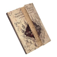 Magnetic Notebook A5 The Marauder's Map