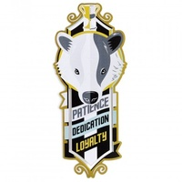 Hufflepuff Stainless Steel Metal Bookmark