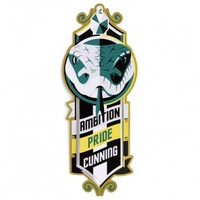 Slytherin Stainless Steel Bookmark