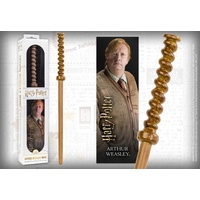 Arthur Weasley Wand Replica & 3D Bookmark
