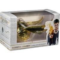 Golden Snitch Metal Hanging Christmas Ornament