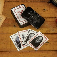 Dark Arts Harry Potter Playing Cards in Metal Collectors Tin
