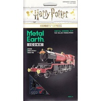 Hogwarts Express Coloured 3D Metal Model Kit puzzle