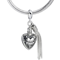Sterling Silver Love Potion Slider Charm