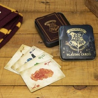 Playing Cards in matching Hogwarts Tin