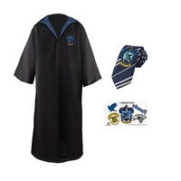 Ravenclaw Robe, Tie and Tattoo Set