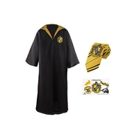 Hufflepuff Robe, Tie and Tattoo Set