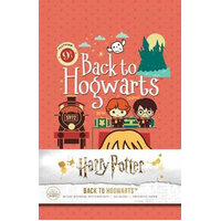 Back to Hogwarts Hardcover Ruled Journal