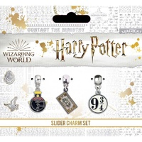Slider Charm Set of 3 Hogwarts