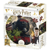 Harry Potter Super 3D Lenticular Puzzle - Hogwarts Express