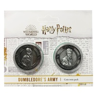 Dumbledore's Army Collectible Coin 2 pack: Harry & Ron Limited Edition