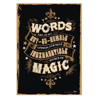 Poster WORDS Mighty Print