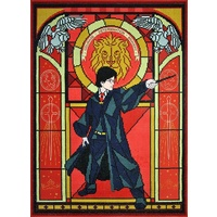 Harry Potter Stained Glass Diamond Painting Kit