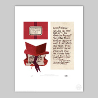 RON WEASLEY'S HOWLER Limited Edition Print