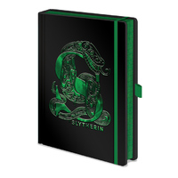 Premium A5 Slytherin Foil Notebook
