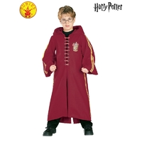 Gryffindor Quidditch Child Robe Deluxe Size Large