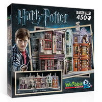 Diagon Alley 3D Puzzle 450 pieces