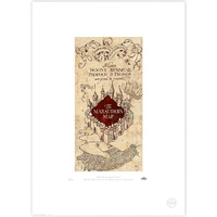 MARAUDER'S MAP Limited Edition Print